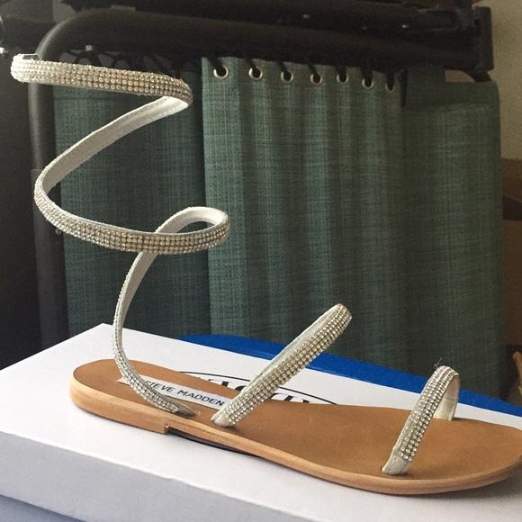 "69e40c609 Steve Madden ""Garnish"" sandal. M 5b0b3f3c2ae12f44d275ca07"